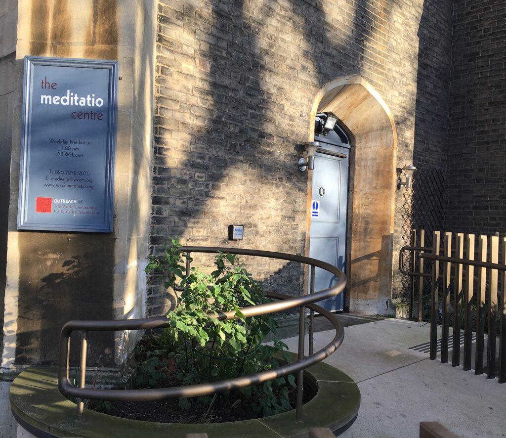 The Meditatio Centre Londons's Entrance