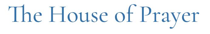 House of Prayer Logo